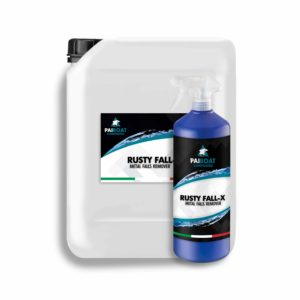 rusty fall-x matal falls and rust remover - Pai Boat Composites