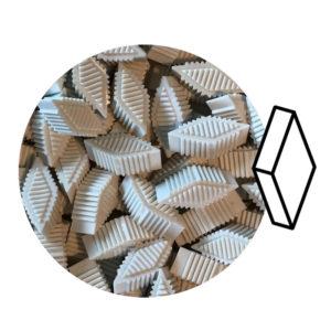 S Rombi Plastici per Burattatura a Secco