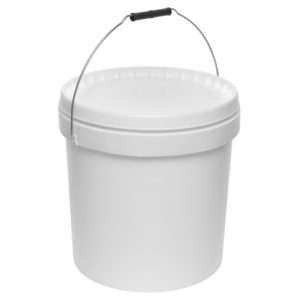 18 L Plastic Bucket with cover
