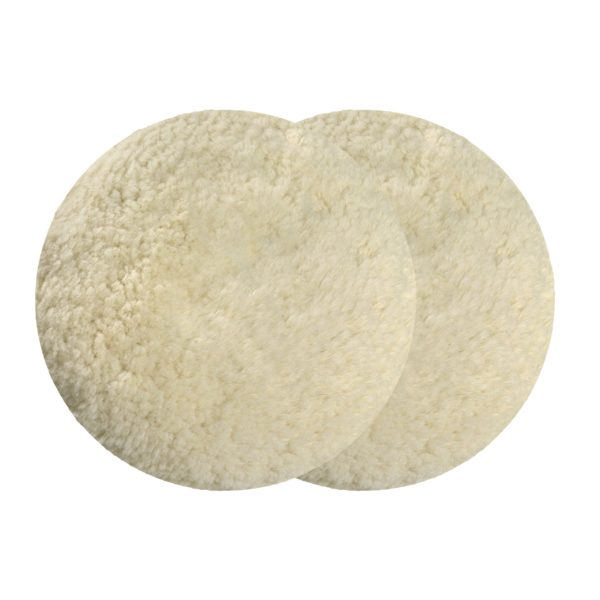 Cuffia doppio lato curva in lana ritorta per lucidatura ST2 - Pai Boat Composites - Pai Cristal