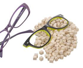 Eyewear in acetate