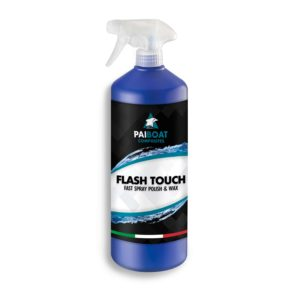 FLASH TOUCH quick cleaning and polishing of boats carbon parts epoxy tables - Pai Boat Composites