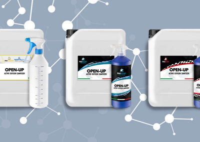 New Product OPEN-UP Surface Sanitizer Pai Cristal Italia