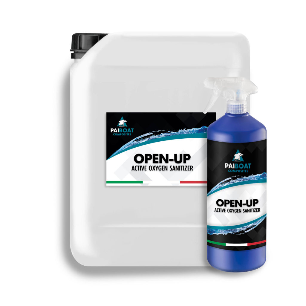 OPEN-UP Surface Sanitizer - Pai Cristal - Pai Boat Composites