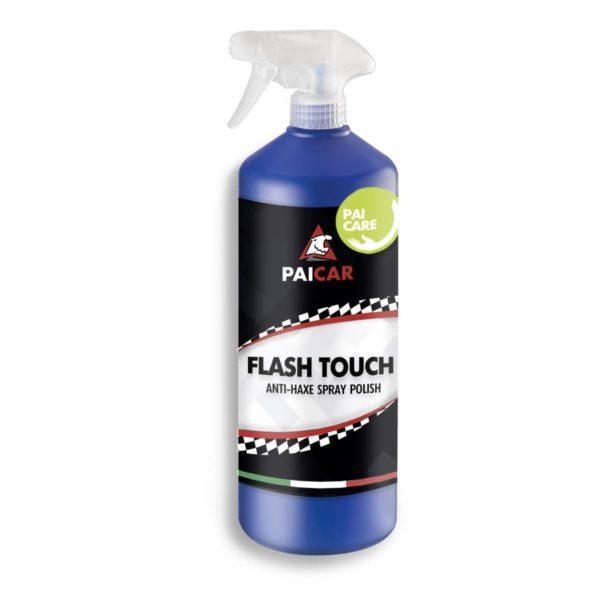 PAI CAR Flash Touch - Polish Spray per Auto con Igienizzante