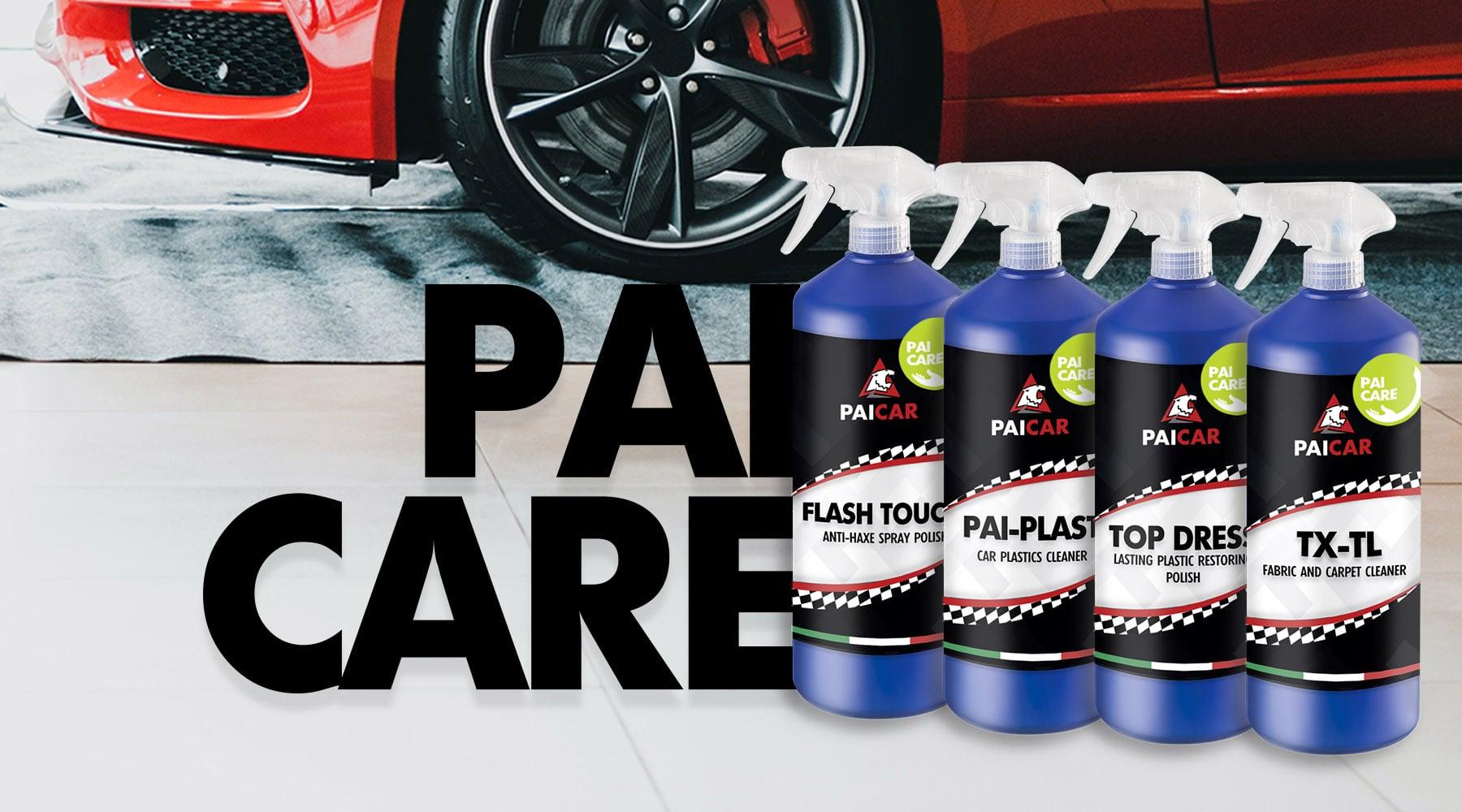 PAI CAR - Prodotti Detailing auto con igienizzante