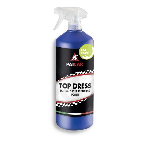 PAI CAR Top Dress - Lucidante plastiche Auto con Igienizzante