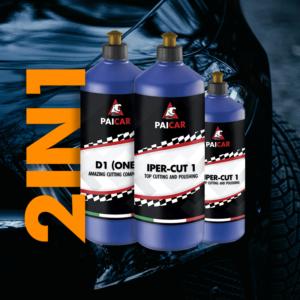 One step polishing compound for cars - PAI CAR - pai cristal