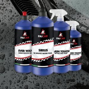 Protective polishes adn waxes - PAI CAR - pai cristal