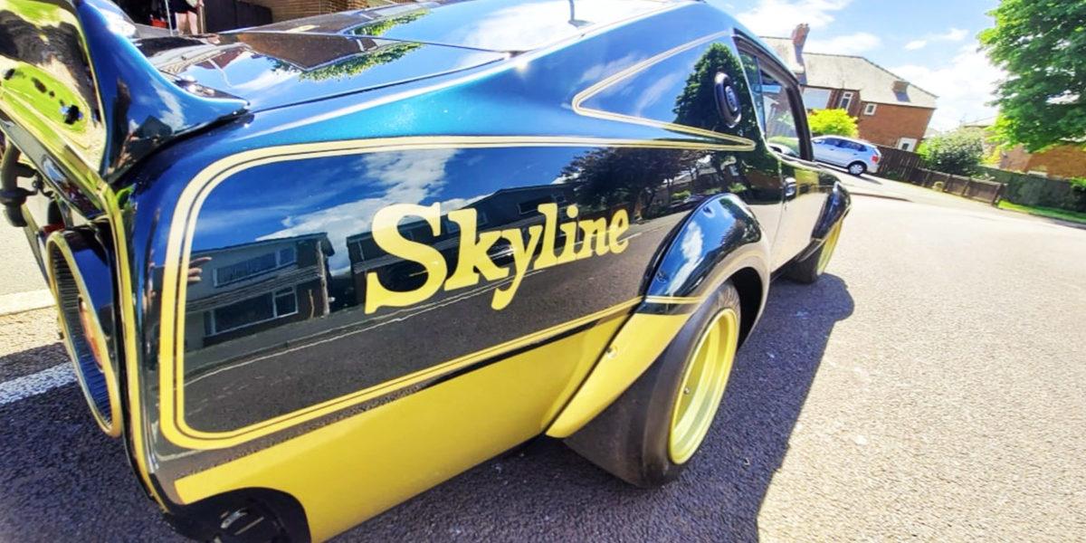 pai car detailing lucidatura nissan skyline c110 kenmery header