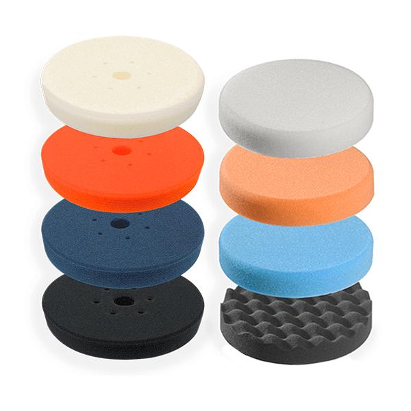 Foam pad microfibre and acessories for car polishing - PAI CAR - pai cristal
