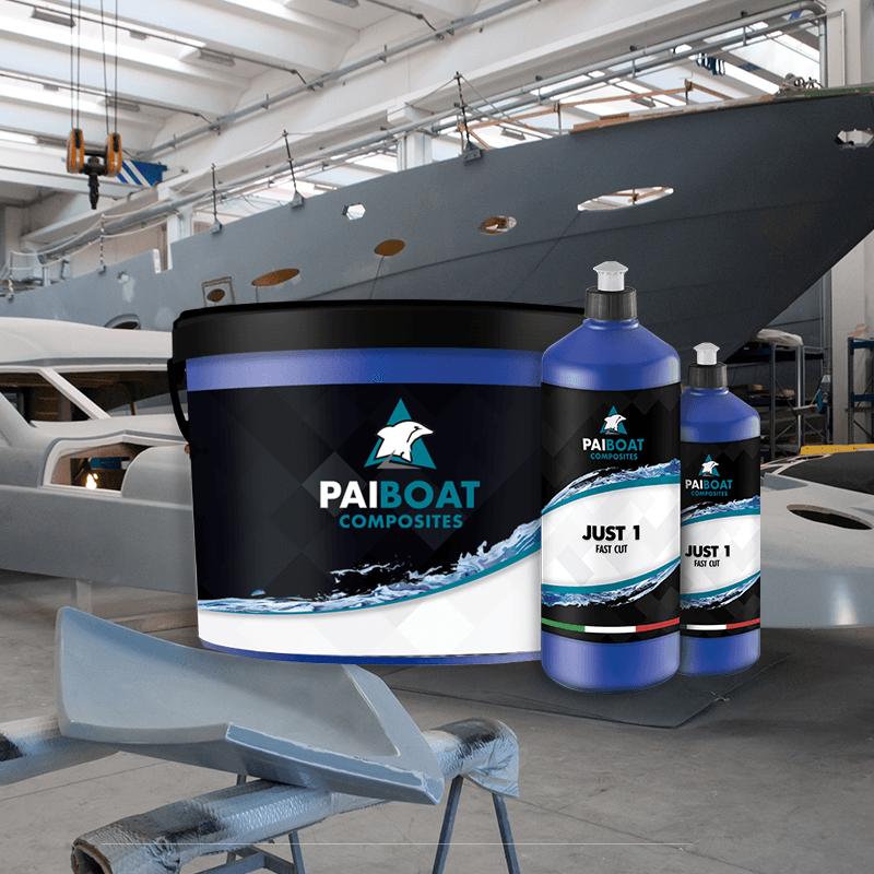 Paste abarsive lucidanti per gelcoat vetroresina resina fibra di carbonio - Pai Boat Composites