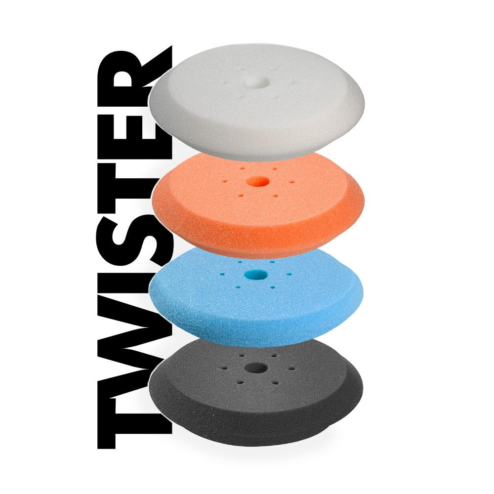 TWISTER polishing pad for car gelcoat carbon fibreglass - Pai Cristal
