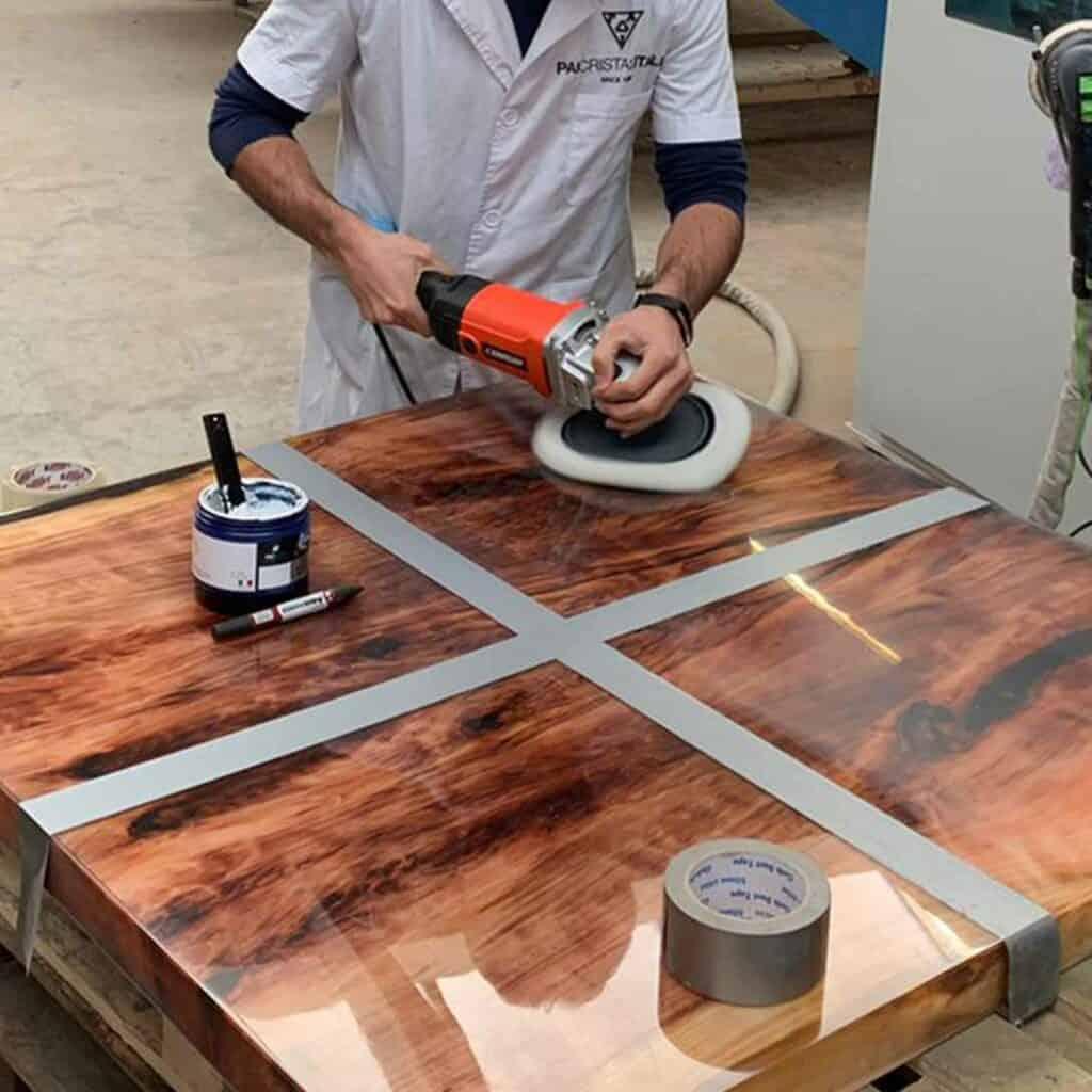 polish_epoxy_resin_river_table_polishing_compound_polishes_resins_paiboat_paicristal